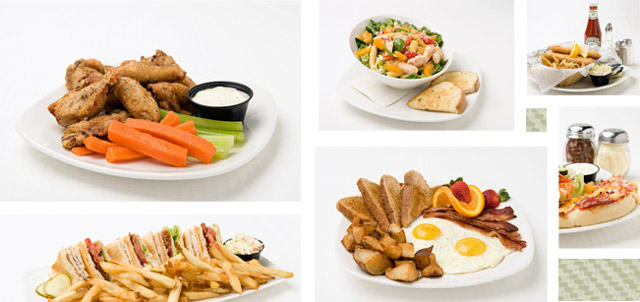 Virden Central Hotel Dining Food Samples